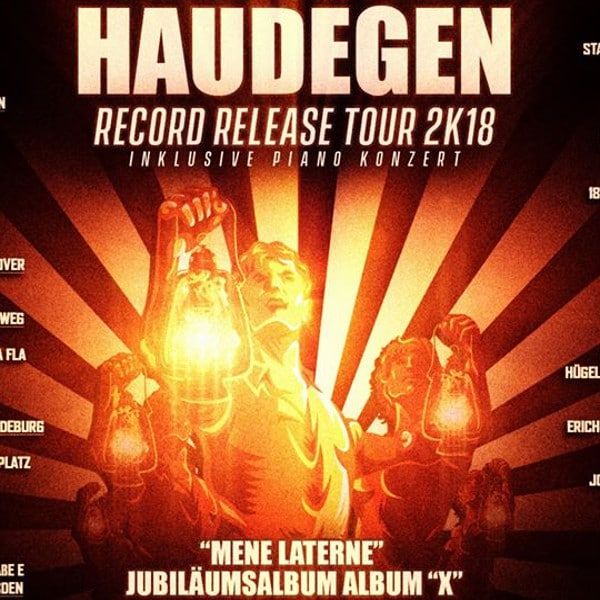 Haudegen - Record Release Tour 2018