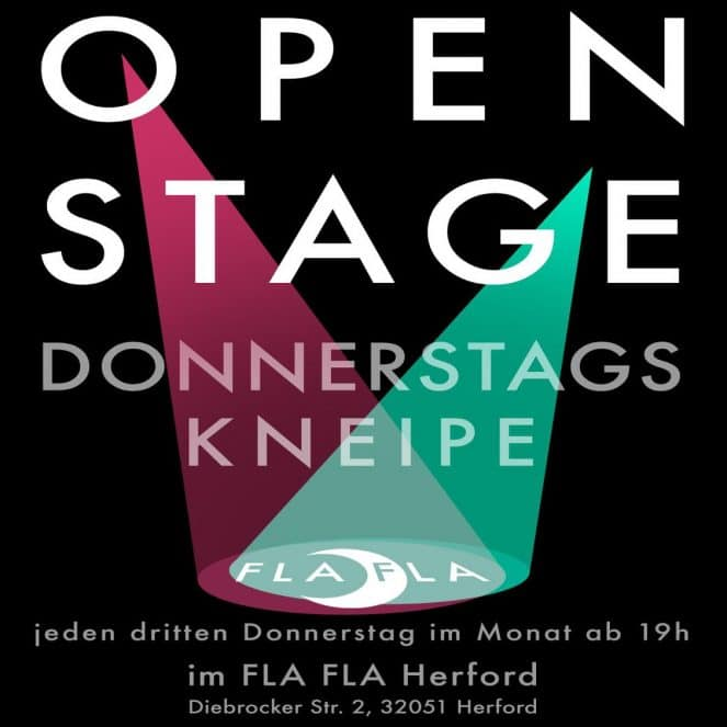 OPEN STAGE [KNEIPE]